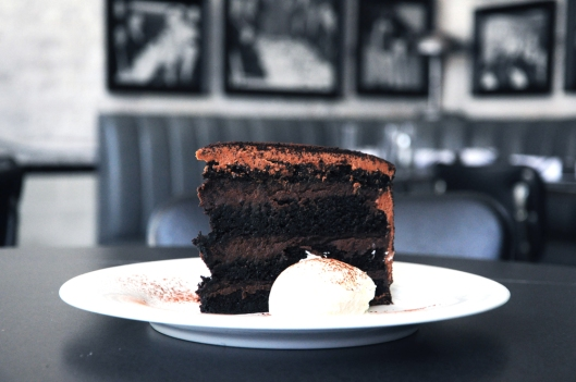 Brooklyn blackout cake by chef Amanda Freitag of Empire Diner.
